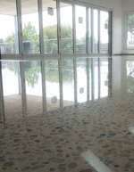 Premium polished concrete